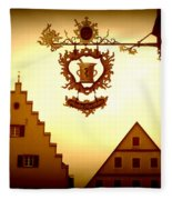 Pharmacy Sign In Rothenburg Fleece Blanket