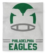 Philadelphia Eagles Vintage Art Fleece Blanket