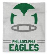 Philadelphia Eagles Vintage Art Fleece Blanket