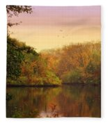 Placid Pond Fleece Blanket