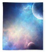Planets Fleece Blanket