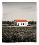 Plantation Church Fleece Blanket