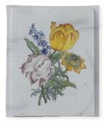 Plate, Anonymous, C. 1750 - C. 1775 Fleece Blanket