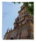 Plaza De Espana - Seville - Spain  Fleece Blanket