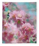 Plum Blossom - Bring On Spring Series Fleece Blanket