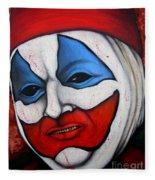 Pogo The Clown Fleece Blanket