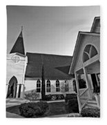 Point Clear Alabama St. Francis Church Fleece Blanket