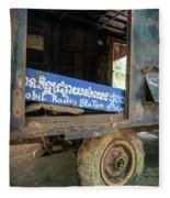 Pol Pot Mobile Khmer Rouge Radio Station Anlong Veng Cambodia Fleece Blanket