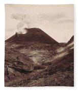 Pompeii, Mt Vesuvius Fleece Blanket