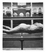 Pompeii: Plaster Cast Fleece Blanket
