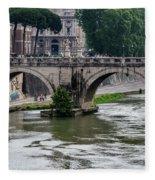 Ponte Sant'angelo Fleece Blanket