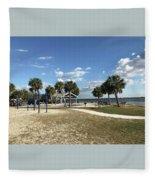 Port Richey, Florida Fleece Blanket