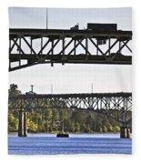 Portland Port104 Fleece Blanket