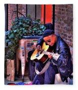 Post Alley Musician Fleece Blanket
