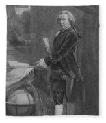 President John Adams - Two Fleece Blanket