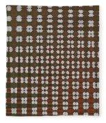 Prickly Poppy Abstract Fleece Blanket