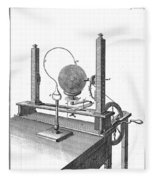 Priestleys Electrostatic Machine, 1775 Fleece Blanket