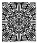 Pulsar Fleece Blanket