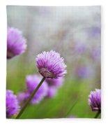Purple Spring 7 Fleece Blanket