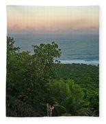 Quam Sunrise Fleece Blanket