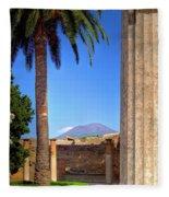 Quiet Vesuvius Fleece Blanket