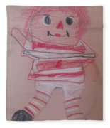 Rag Doll Fleece Blanket