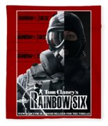 Rainbow Six Fleece Blanket