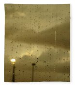 Rainy Days And Mondays Fleece Blanket