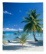 Rangiroa Atoll, Kia Ora Fleece Blanket