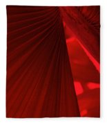 Red As Blood Fleece Blanket