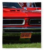 red GTO Fleece Blanket