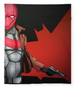 Red Hood Fleece Blanket