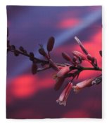 Red On Red Fleece Blanket