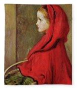 Red Riding Hood Fleece Blanket