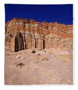 Red Rock Canyon Mojave Desert Fleece Blanket