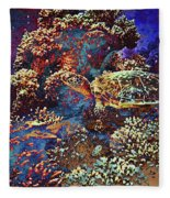 Red Sea Turtle Fleece Blanket