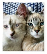 Rescued And Spoiled Fleece Blanket
