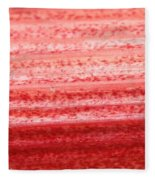 Rhubarb Skin Fleece Blanket