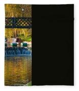 River Cam Fleece Blanket