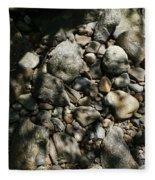 River Stones Fleece Blanket
