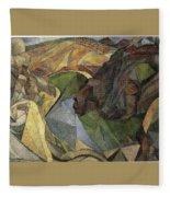 Rivera 10 Diego Rivera Fleece Blanket