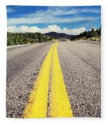 Road Fleece Blanket