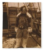 Robert Edwin Peary, American Explorer Fleece Blanket
