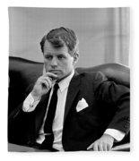 Robert Kennedy Photo Fleece Blanket