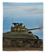 Rolling Thunder Fleece Blanket