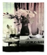 Romance In The Afternoon Fleece Blanket
