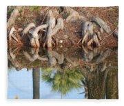 Rooted Reflections Fleece Blanket