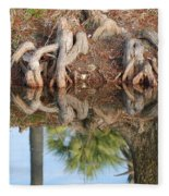 Rooted Reflections Fleece Blanket