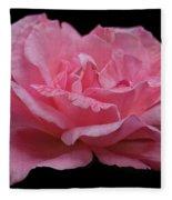 Rose - Flower Fleece Blanket