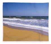 Route A1a, Atlantic Ocean, Flagler Fleece Blanket